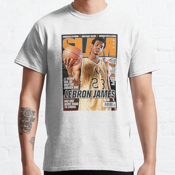 LeBron James - SLAM Magazine Classic T-Shirt