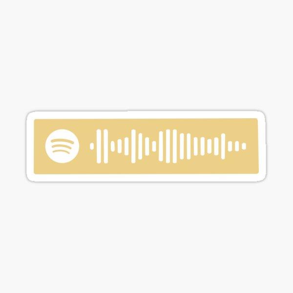 Vienna by Billy Joel Spotify Scan Code Sticker