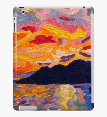 West CoastSunset iPad Case/Skin