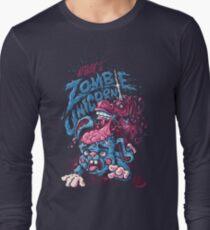 Zombie Unicorn Attacks Long Sleeve T-Shirt