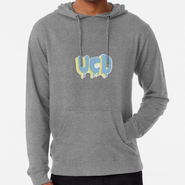 UC Davis Drippy Font Lightweight Hoodie