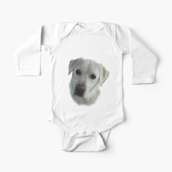 Lucy Wants a French Fry Long Sleeve Baby One-Piece