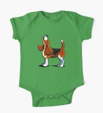 Tricolor Beagle Bay One Piece - Short Sleeve