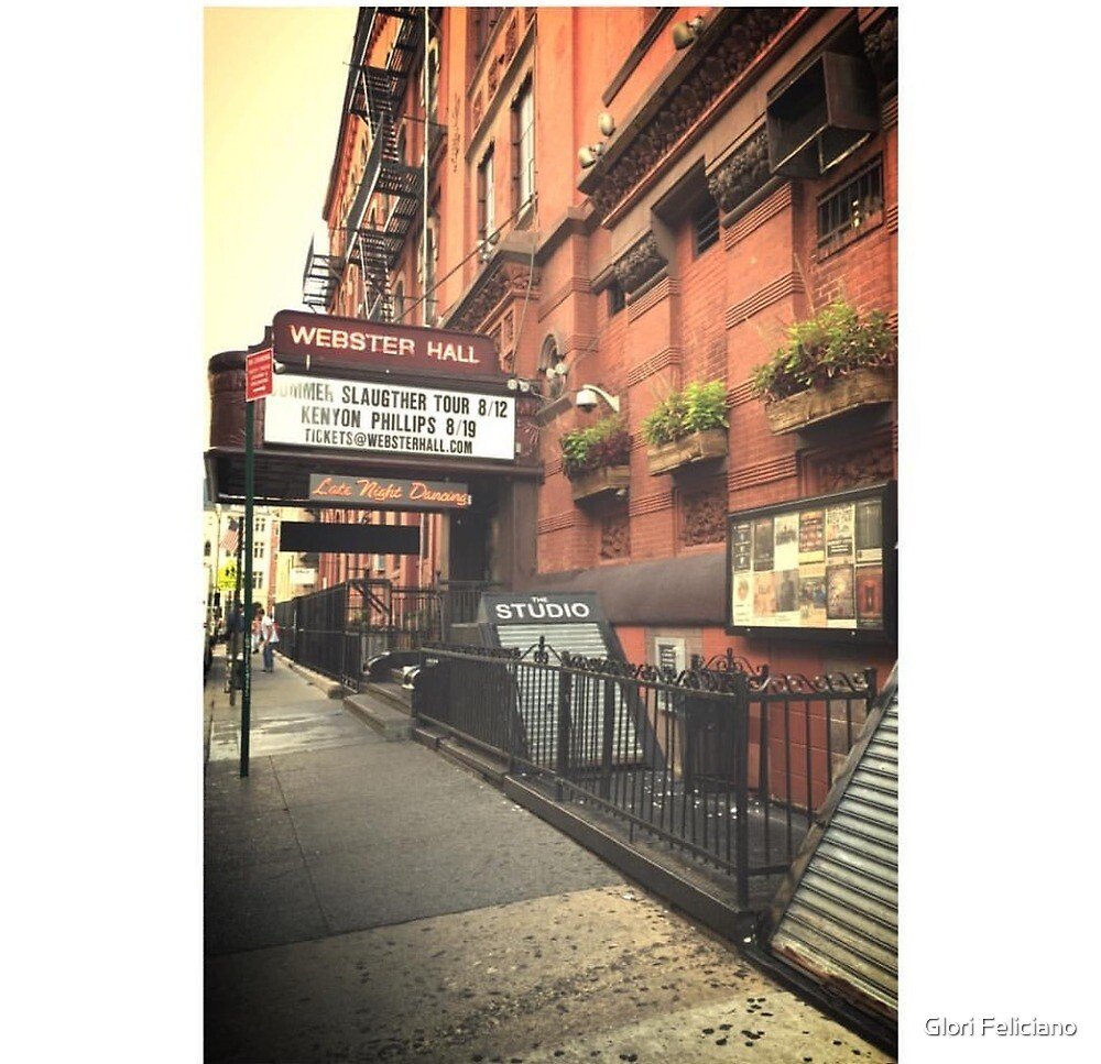 The Webster Hall by Glori Feliciano