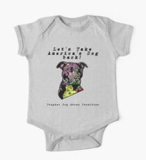 Let's Take America's Dog Back! One Piece - Short Sleeve