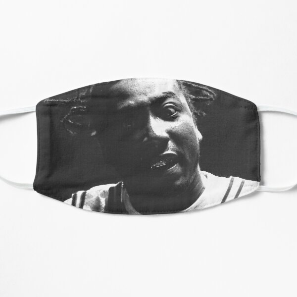 ODB B&W Portrait - Ol' Dirty Bastard Flat Mask