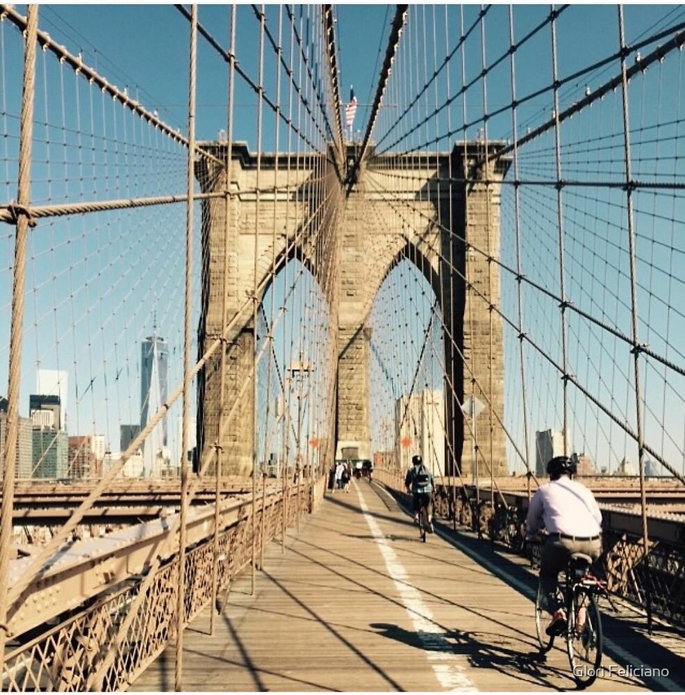 Brooklyn Bridge  by Glori Feliciano