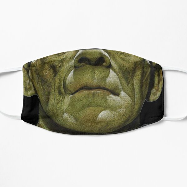 Frankenstein mouth face mask Halloween costume Flat Mask