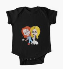 Horror Movie Dolls Caricature One Piece - Short Sleeve