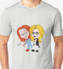 Horror Movie Dolls Caricature T-Shirt