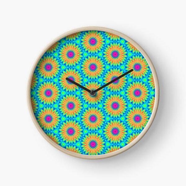FLOWER POWER Clock