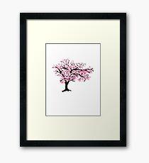Cherrytree Blossom Framed Print