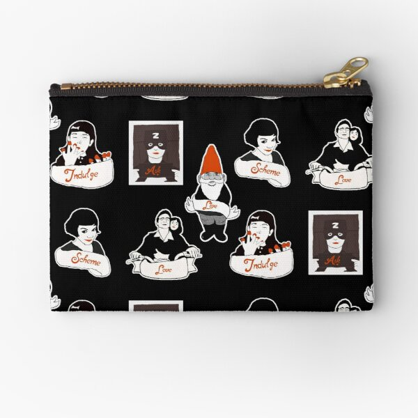 Bits and Bobs: Amelie (B & W) Zipper Pouch