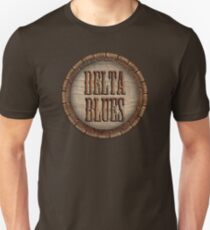 Wonderful Delta Blues Wood & Rust Unisex T-Shirt