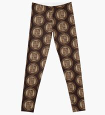 Wonderful Delta Blues Wood & Rust Leggings