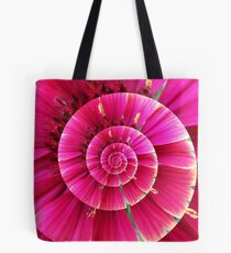 Flower Swirl Tote Bag