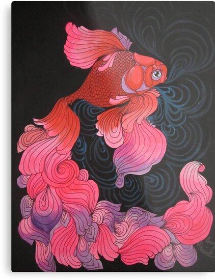 Pink Oranda  by amylouised