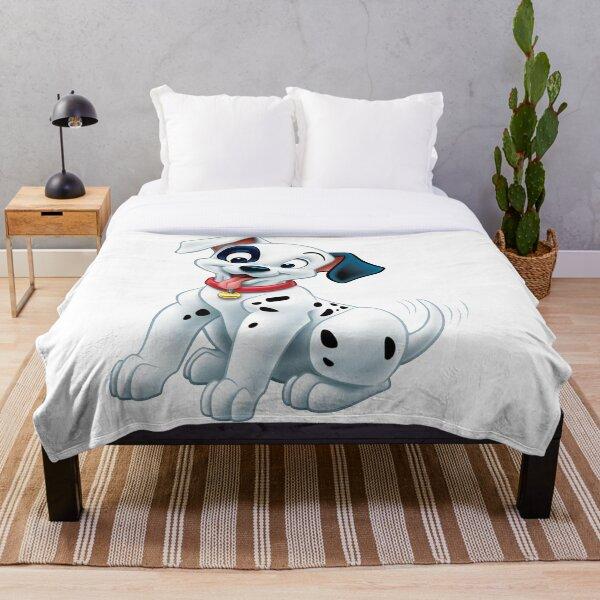 Dalmatian dog Throw Blanket