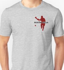 Beacon Hills High - Lacrosse (chest) Unisex T-Shirt