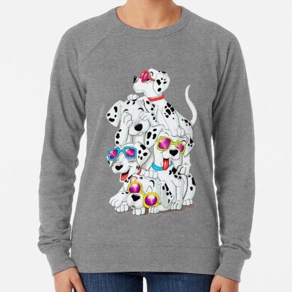 Dalmatian dogs Lightweight Sweatshirt