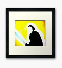Our Only Hope Framed Print