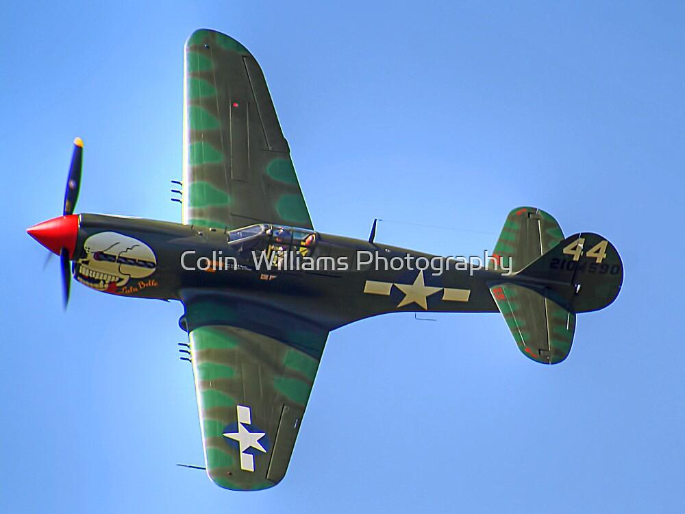Curtiss P-40M Kittyhawk - Shoreham 2013 by Colin  Williams Photography