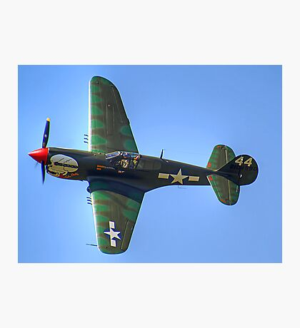 Curtiss P-40M Kittyhawk - Shoreham 2013 Photographic Print