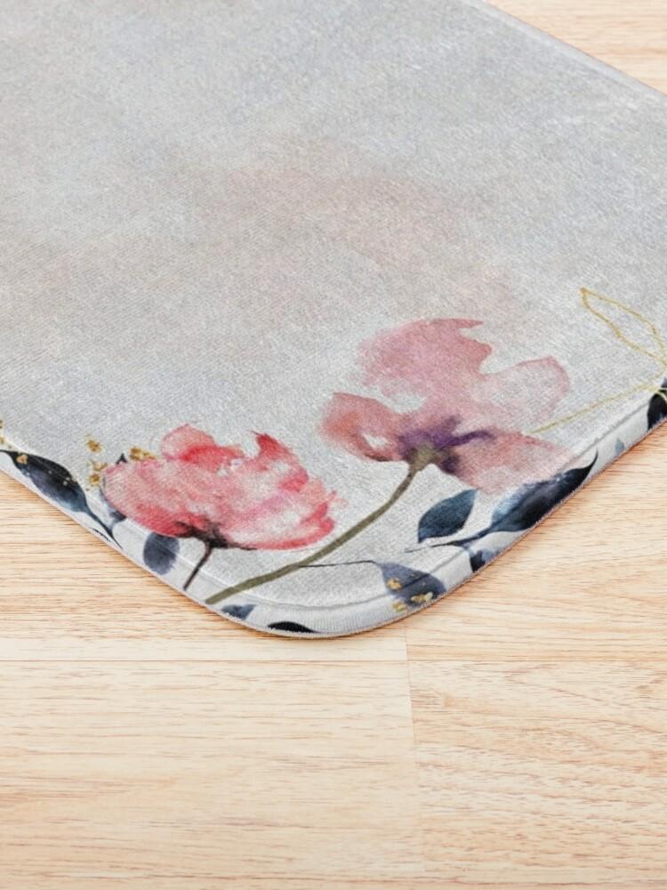 Alternate view of Roses Bath Mat
