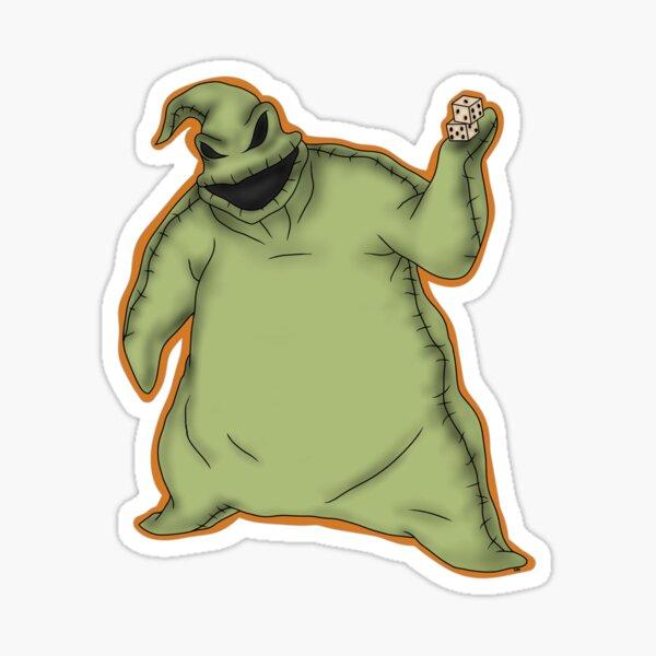 Oogie Boogie Sticker