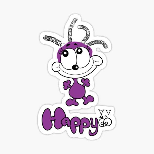 Happy Spiffy Original  Sticker
