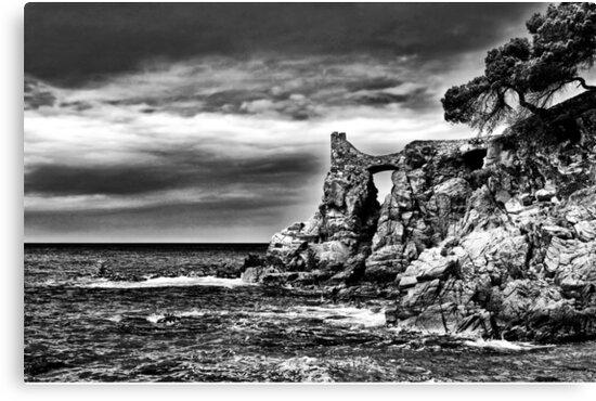 Mediterranean coast. by skyfish