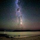 Milky Way from Safety Cove by Robert-Todd