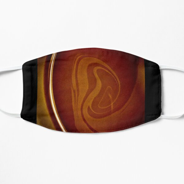 Coffee Abstract Flat Mask