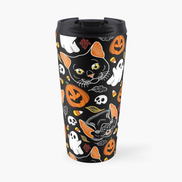 Feline Spooky Travel Mug