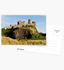 Bamburgh Castle Postcards