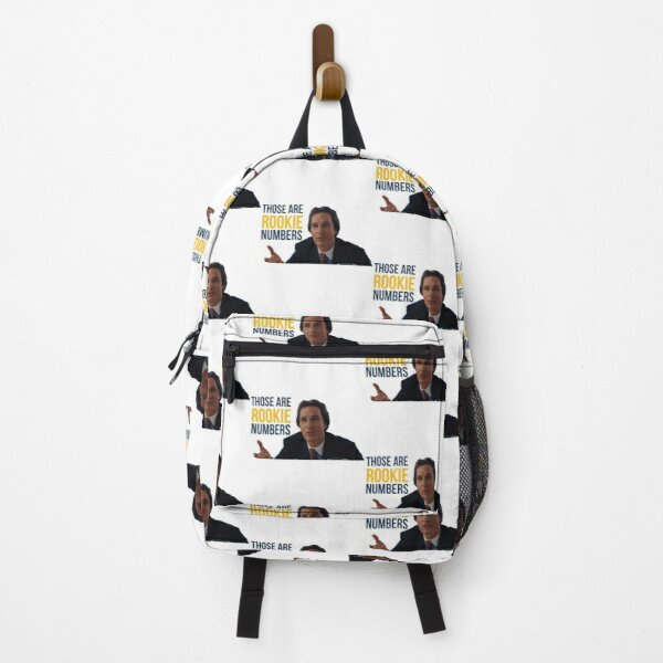 Wolf of Wall Street Rookie Numbers Backpack