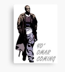 Omar Little Canvas Print