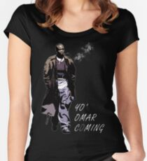 Omar Little Women's Fitted Scoop T-Shirt