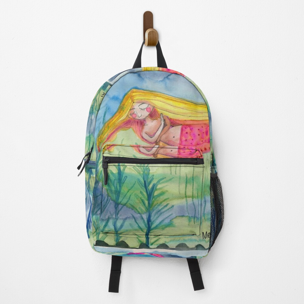 Pink Tail Backpack