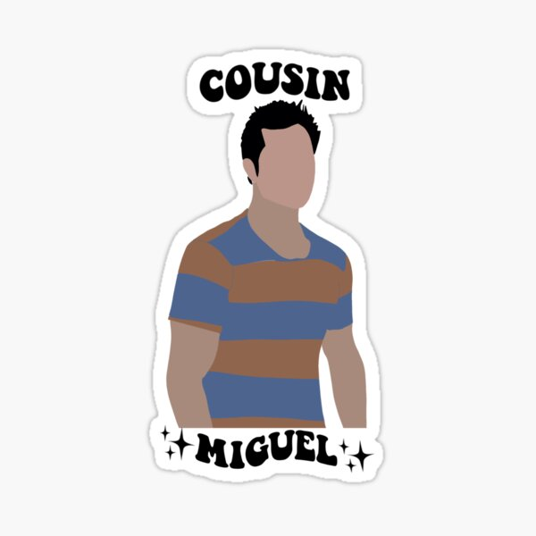 Cousin Miguel from Teen Wolf Sticker