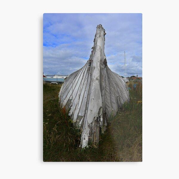 Lindisfarne Boat Metal Print
