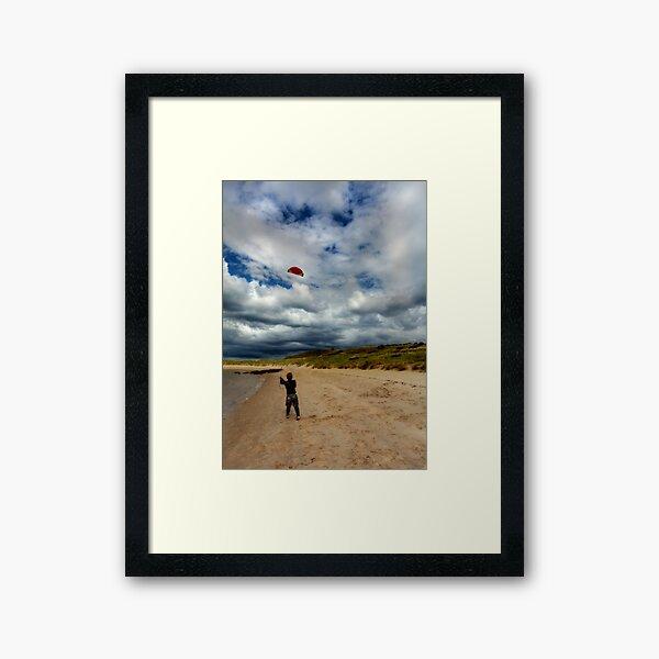 Lets Go Fly A Kite Framed Art Print