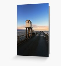 Lindisfarne Causeway Greeting Card