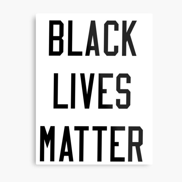BLM Collection Metal Print