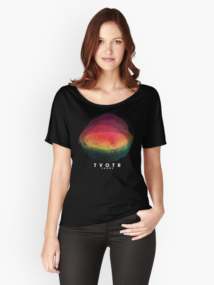 TV on the Radio 04 Women's Relaxed Fit T-Shirt Front