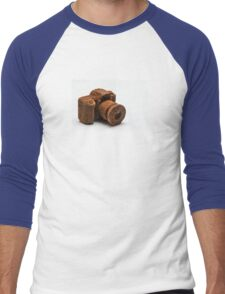 Chocolate Camera Men's Baseball ¾ T-Shirt