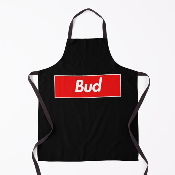 Bud Name Label - Gift For Male Named Bud Apron