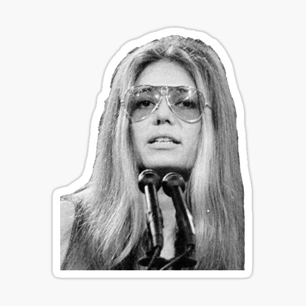Gloria Steinem  Sticker