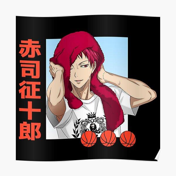Kuroko No Basket Akashi Poster