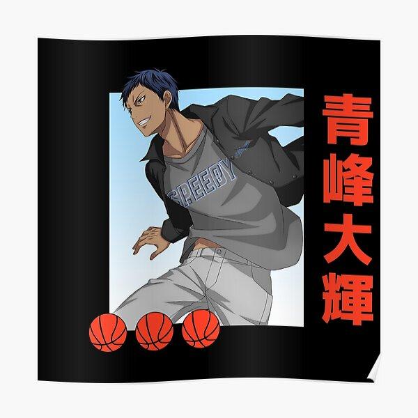 Kuroko No Basket Aomine Poster